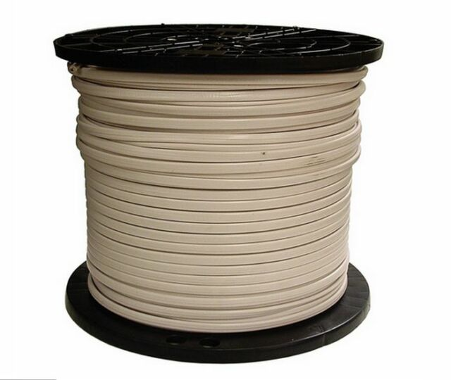 1000-ft Roll 14-2 AWG NMB Gauge Indoor Electrical Copper Wire Ground ...