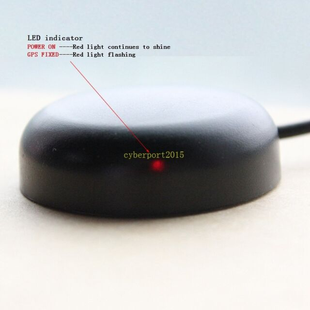 new bu353 usb gps receiver usb mouse for laptop netbook pc google earth map