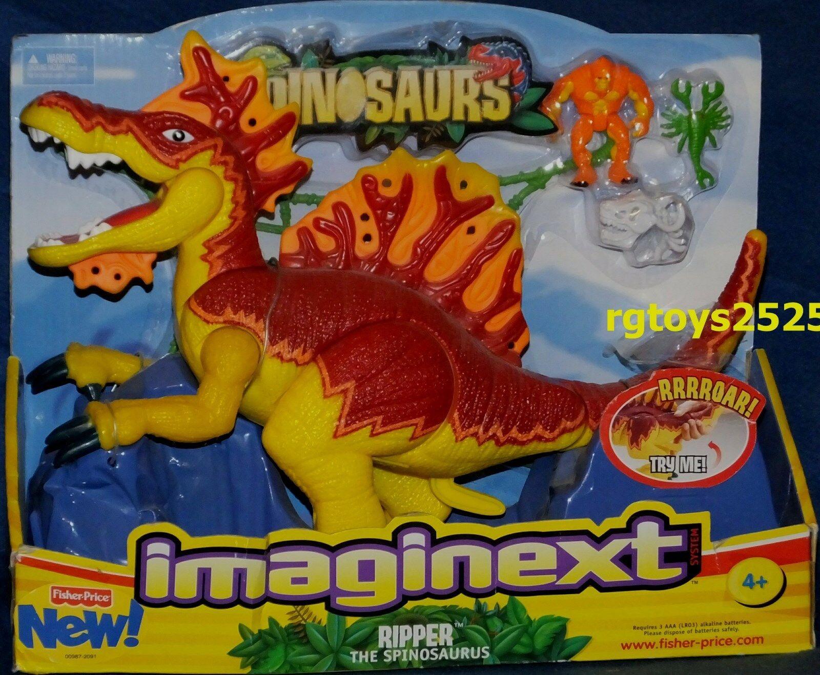 imaginext large dinosaurs ripper the spinosaurus ebay