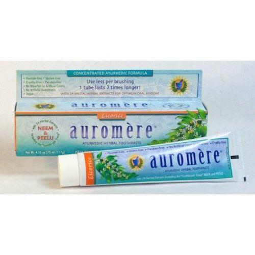 Auromere Ayurvedic Herbal Toothpaste + FREE POSTAGE