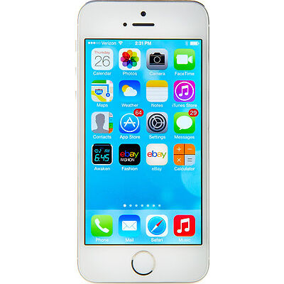 Apple  iPhone 5s - 16 GB - Silver - Smartphone