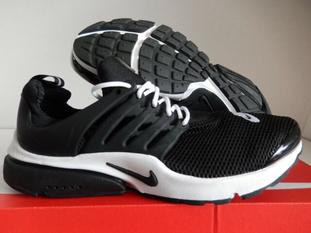 MENS NIKE AIR PRESTO ID BLACK-WHITE SZ 9 [846438-991]