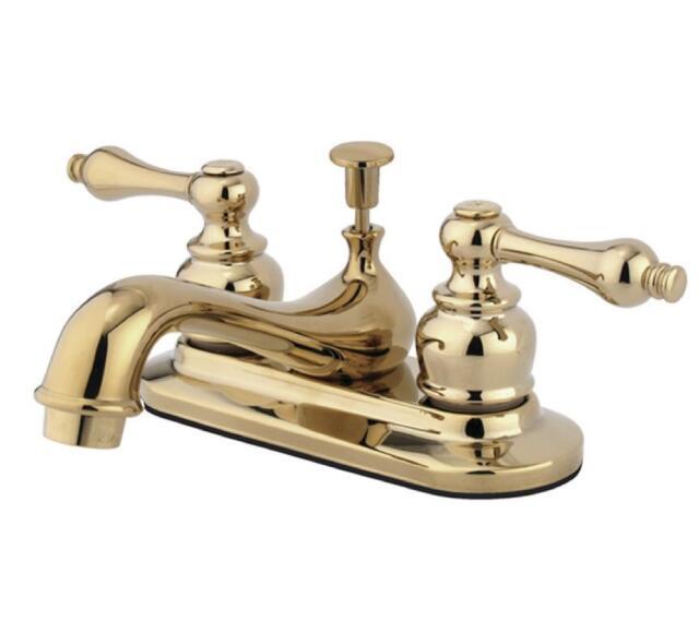 Kingston Brass Restoration Kb60 4 In. Centerset Bathroom Faucet | eBay