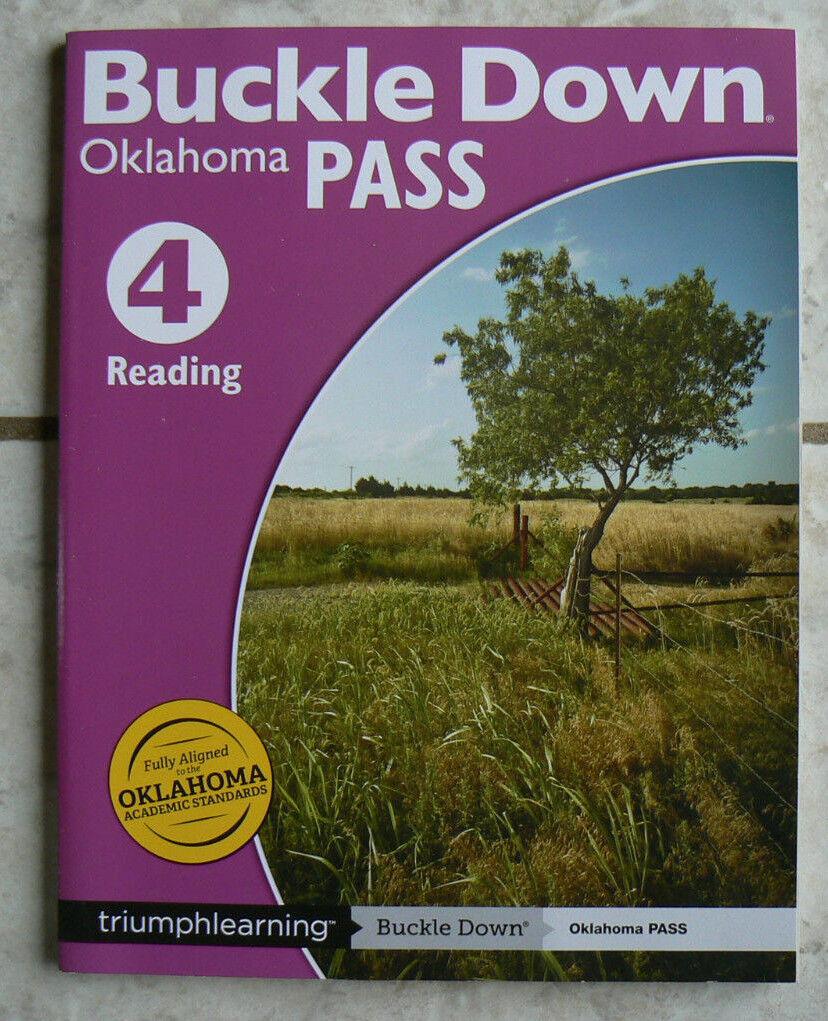 Workbooks buckle down workbooks : Buckle Down Reading 4 Oklahoma Pass Workbook Test Prep   eBay