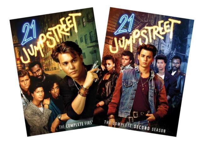 21 Jump Street: The Complete Series Seasons 1&2 Johnny Depp (DVD, 6-Disc Set)NEW