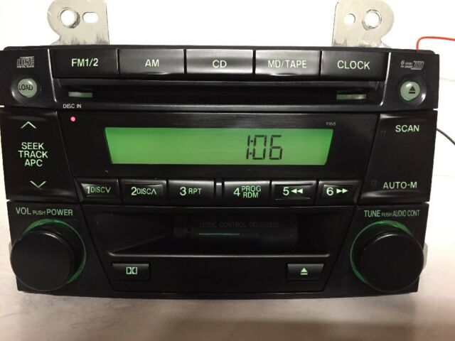 20022003 Mazda Mpv Factory Oem Am Fm Radio 6 Disc Cd Player Pn Ld51 Rhebay: Mazda Mpv Radio Not Working At Gmaili.net