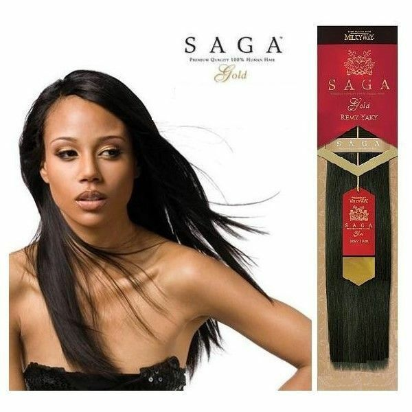 Milky way saga gold remy 100 human hair yaky weave extension 10s picture 2 of 2 pmusecretfo Gallery