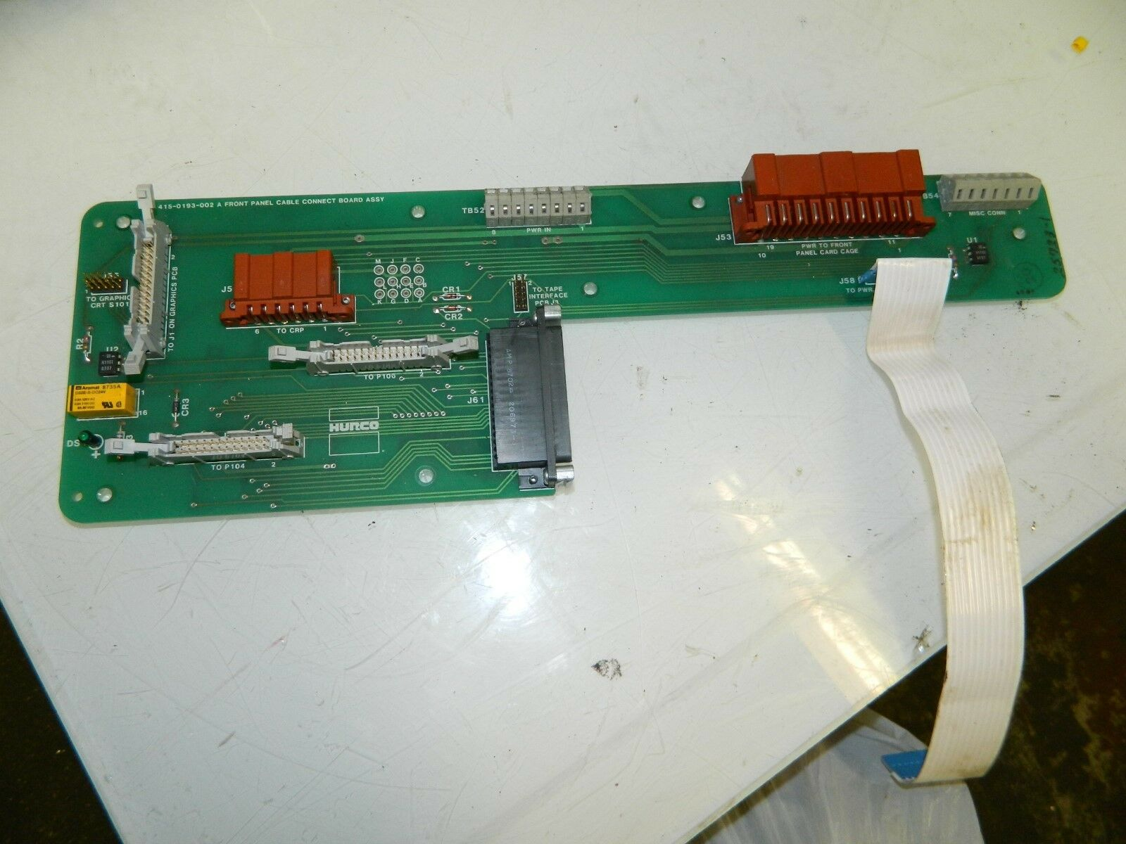Hurco Front Panel Cable CNC PC Board 415-0193-002 a | eBay