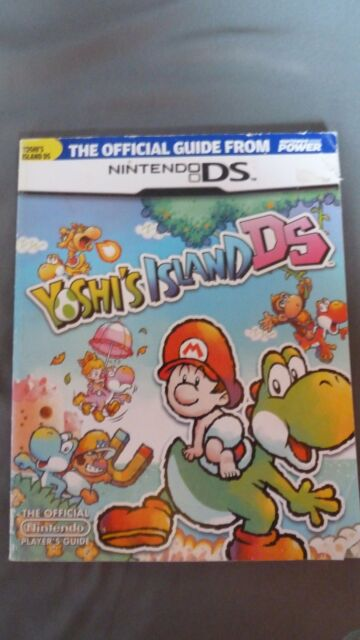 Yoshis island ds official nintendo power strategy guide ebay 599 sciox Image collections