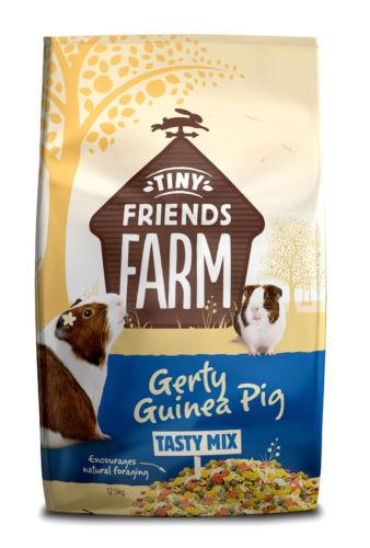 12.5kg Supreme Gerty Guinea Pig Complete Balanced Diet Muesli Food 12.5 kg