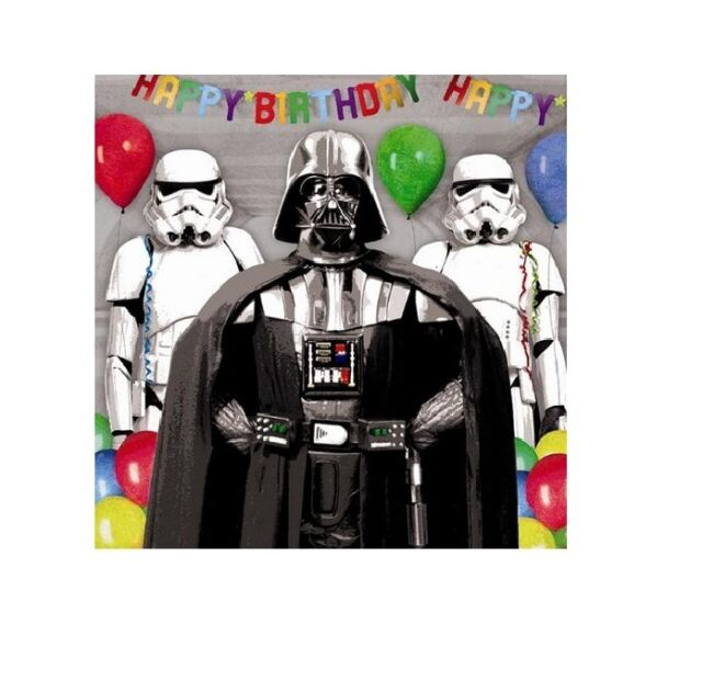 Official Star Wars Birthday Cards Age 6 7 8 9 10 General Nephew – Lego Star Wars Birthday Cards