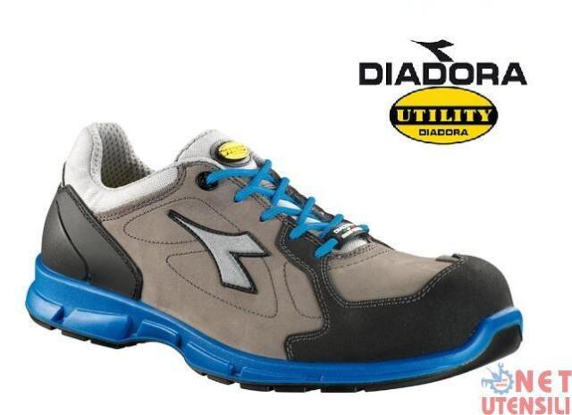 Diadora D Flex Low S3 Scarpe da Lavoro Uomo SRC Grigio I1N