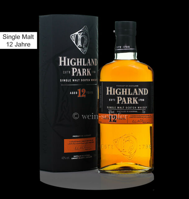 HIGHLAND PARK 12 Jahre  Highland Single Malt Scotch
