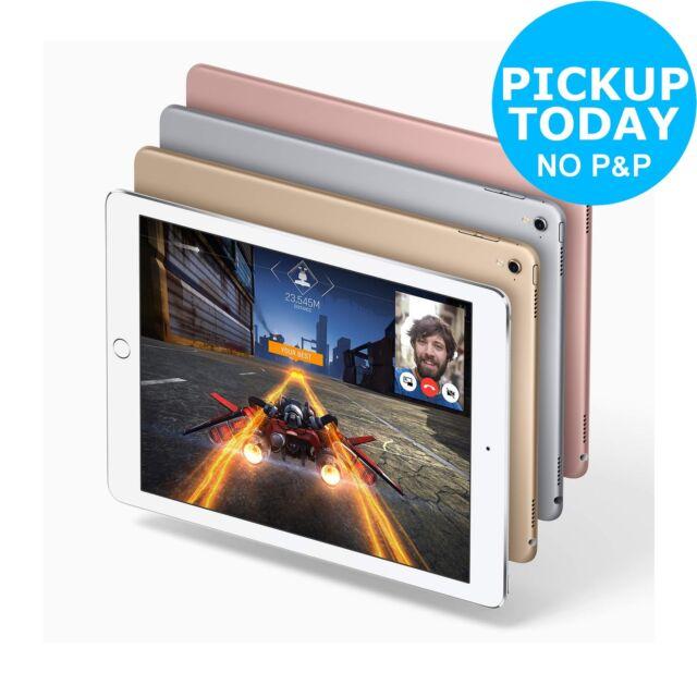 Apple iPad Pro 9.7 Inch 32GB/128GB/256GB Wi-Fi Tablet - Gold/Pink/Silver/Grey