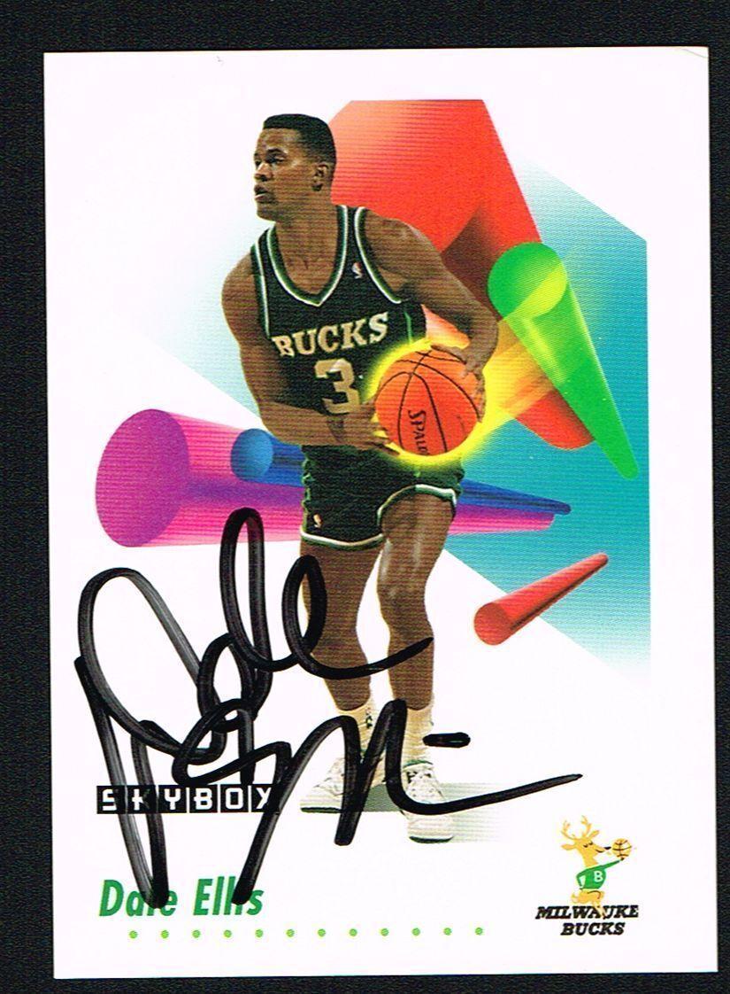 1991 92 Skybox Bucks Basketball Card 161 Dale Ellis