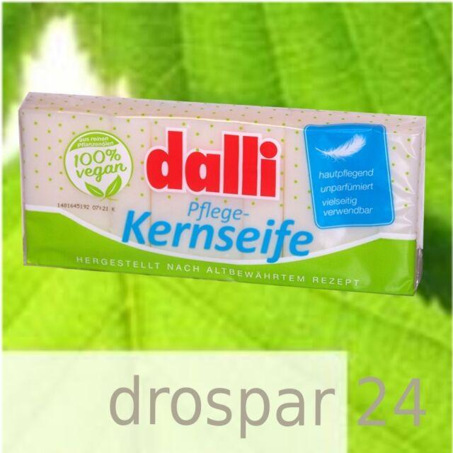 (7,71 €/kg) Dalli Pflege-Kernseife parfümfrei vegan 3er-Pack #WS