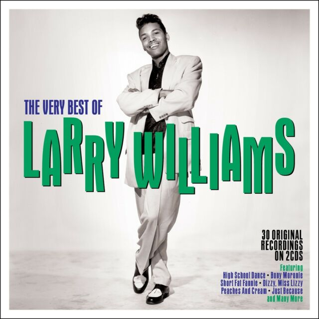 Larry Williams - The Very Best Of [Greatest Hits] 2CD NEW/SEALED