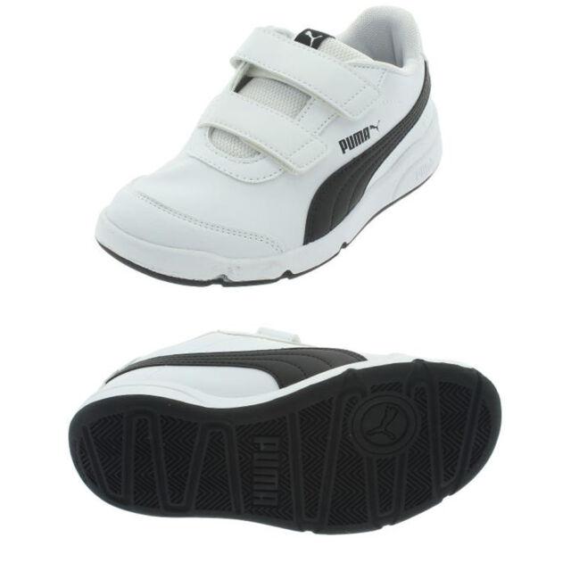 Sneakers bianche con chiusura velcro per bambini Puma Stepfleex HBm5Dj