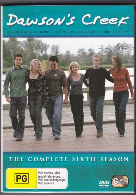 Dawson's Creek - The Complete Sixth Season - DVD (6 x DVD Region 4)