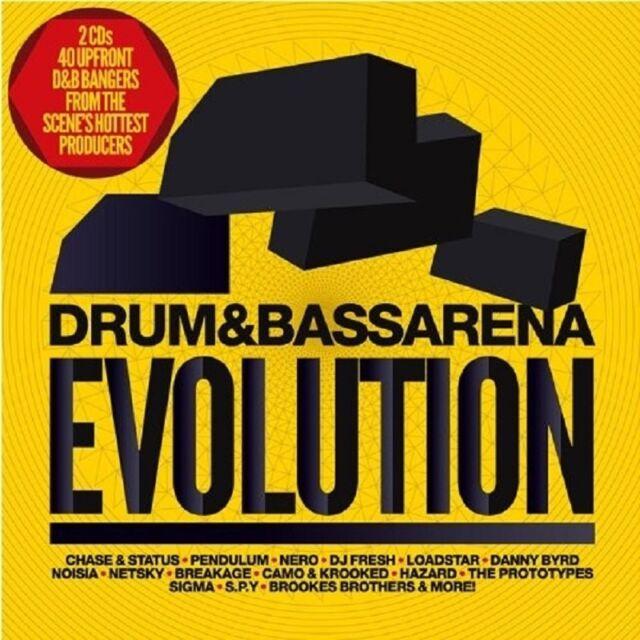 DRUM & BASS ARENA EVOLUTION 2 CD NEU - CHASE & STATUS, DELTA HEAVY, BREAKAGE