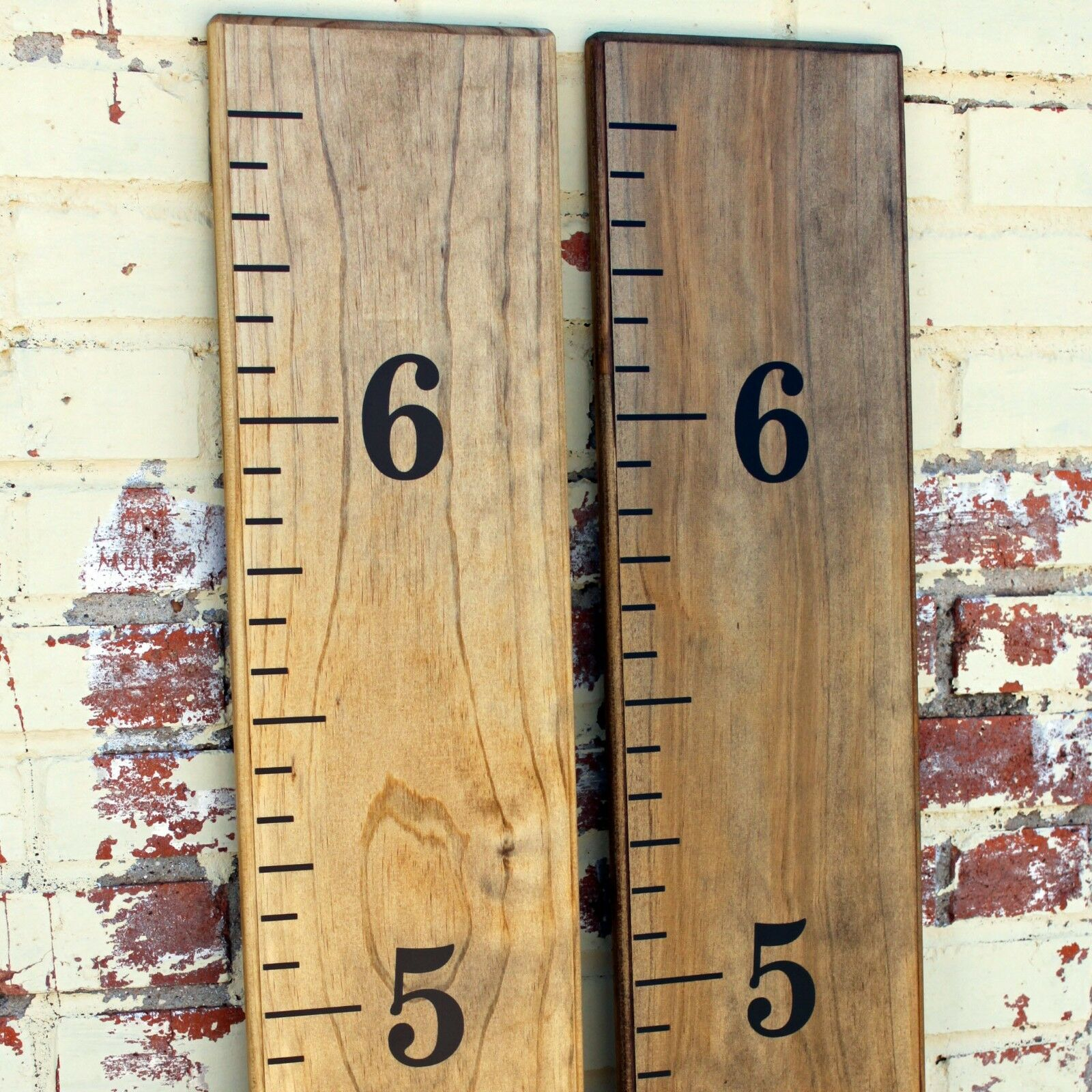 Diy vinyl growth chart ruler decal kit traditional style large picture 1 of 5 nvjuhfo Gallery