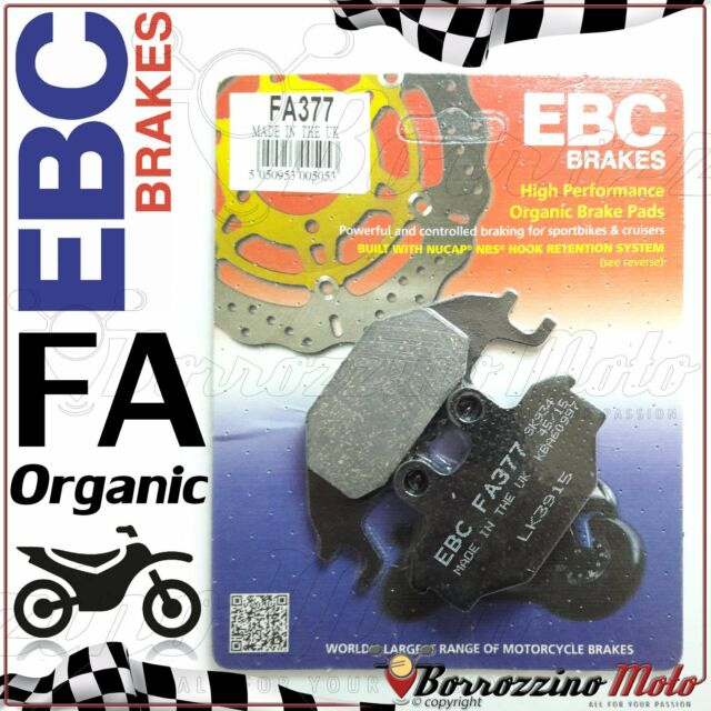 PASTIGLIE FRENO ANTERIORE EBC FA377 CAN AM ATV DS 250 2007 - 2009