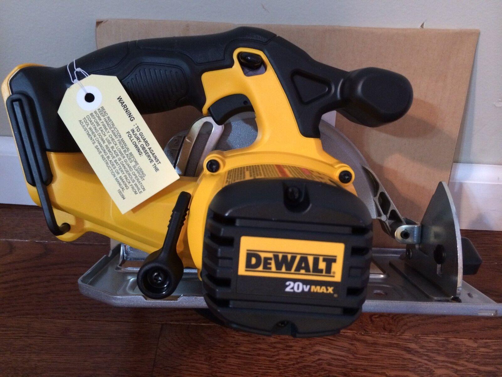 20v dewalt cordless circular saw dcs393 bare tool only ebay greentooth Choice Image