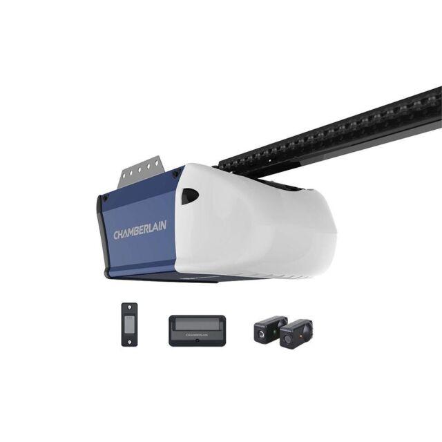 Automatic Garage Door Opener Remote Rails Motor Chain Drive