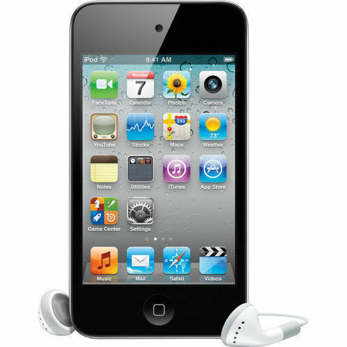 iPod Touch 4th Generation 8 GB Black MP3 PLAYER 90 Days Warranty-New Sealed