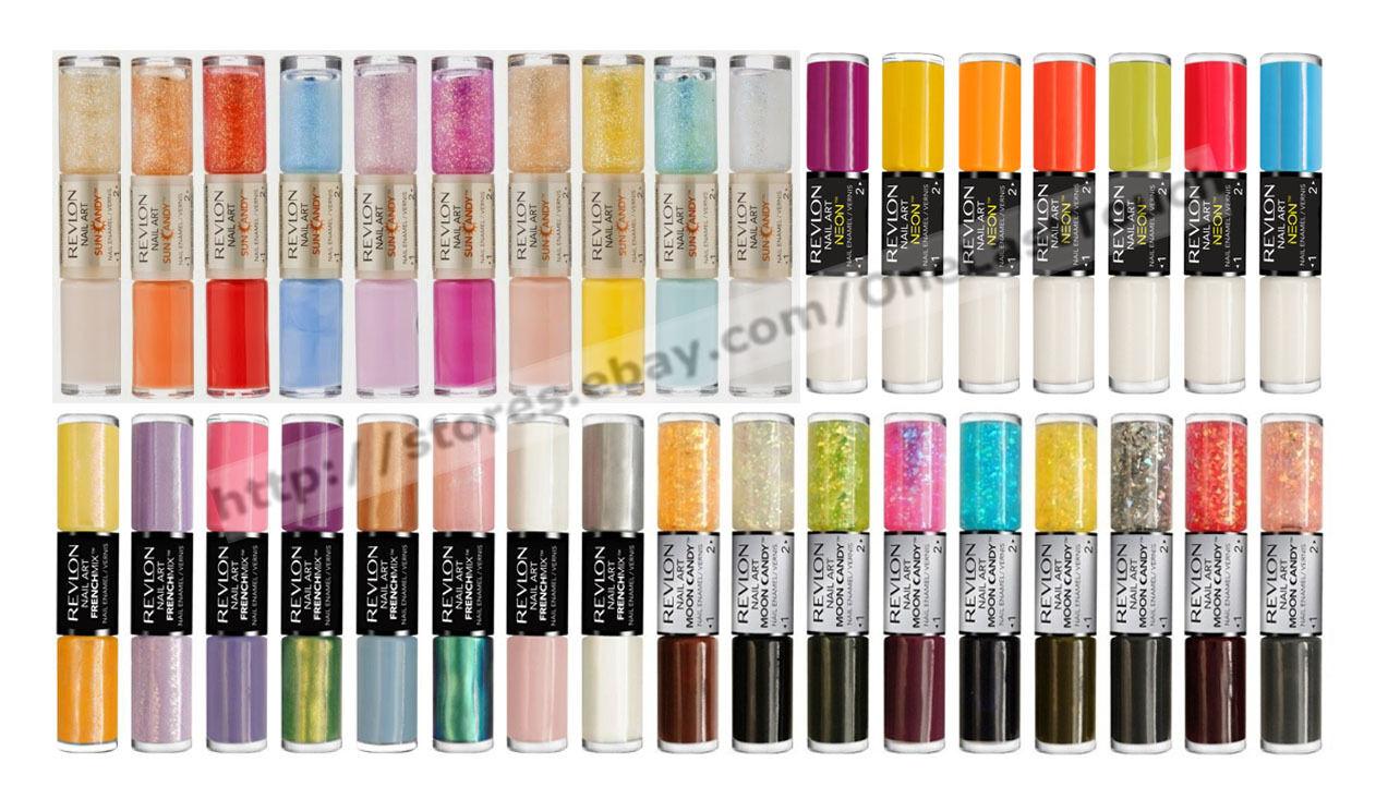 Revlon Moon Candy Eclipse 240 Glitter Sparkles Flakies Nail Art ...