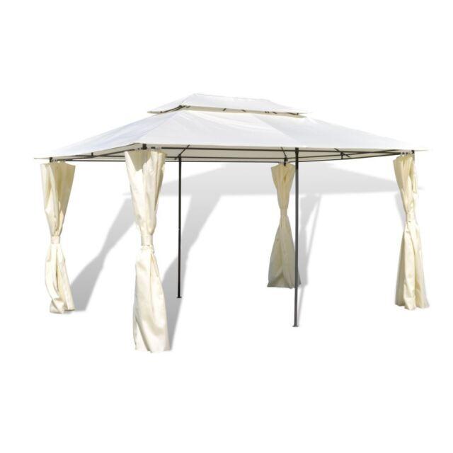 10 X 13 Outdoor Gazebo Party Tent Canopy Backyard Pergola Garden Patio Wedding