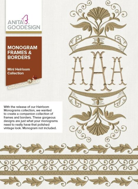 Anita Goodesign 188maghd Monogram Frames Borders Embroidery Designs ...