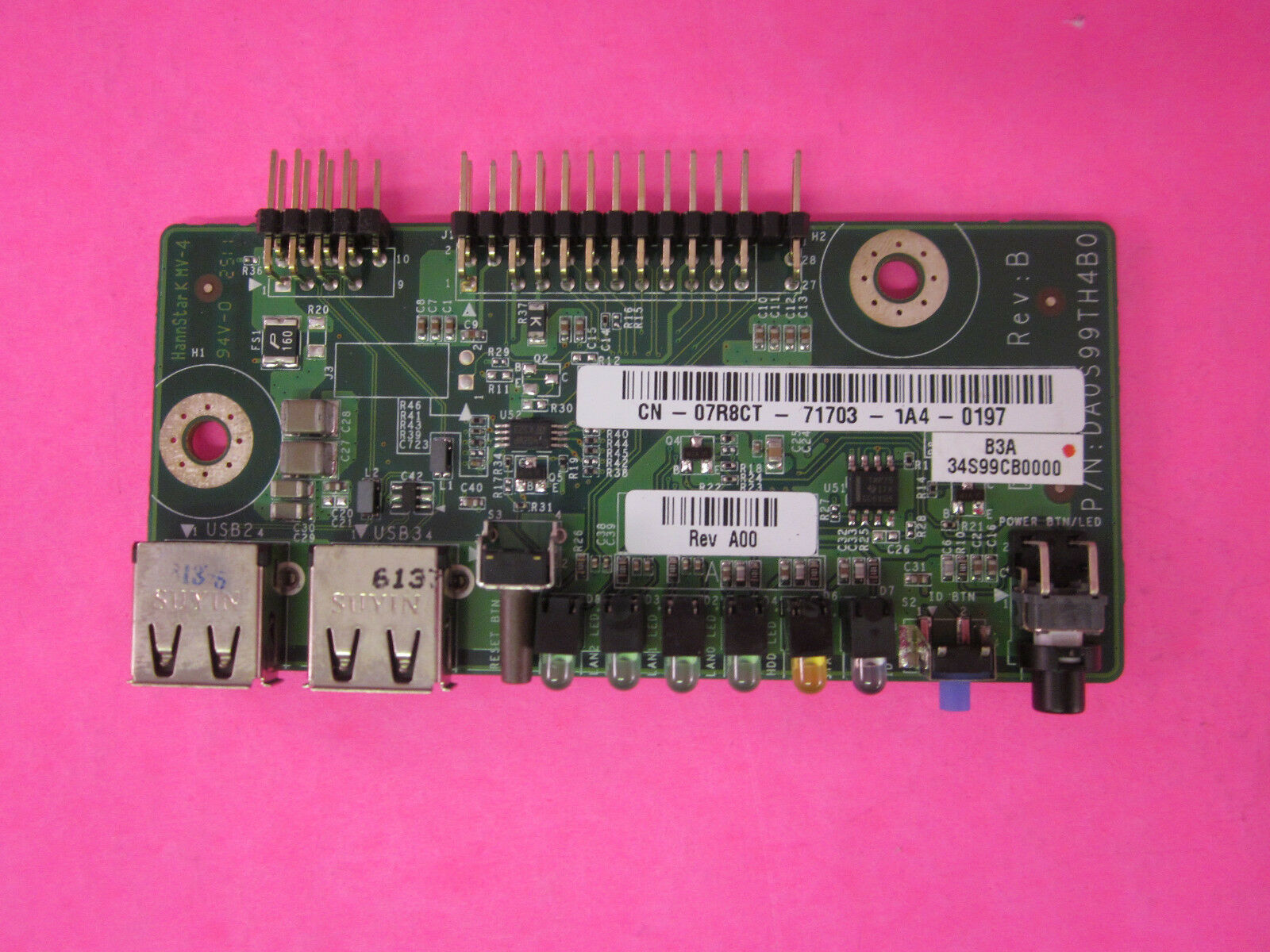 Genuine Dell Poweredge C1100 Front Usb Control Panel 7r8ct Ebay Electronic Circuitry The Operating Controls Are On Plate Picture 1 Of 3