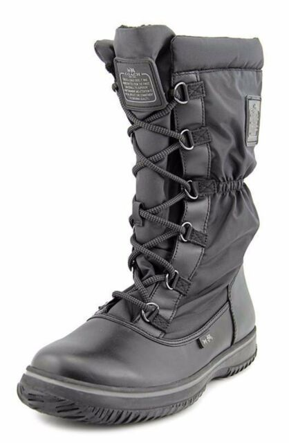 Womens Boots COACH Sage Black Rubber