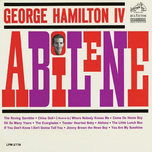 George Hamilton IV - Abilene [New CD] Manufactured On Demand