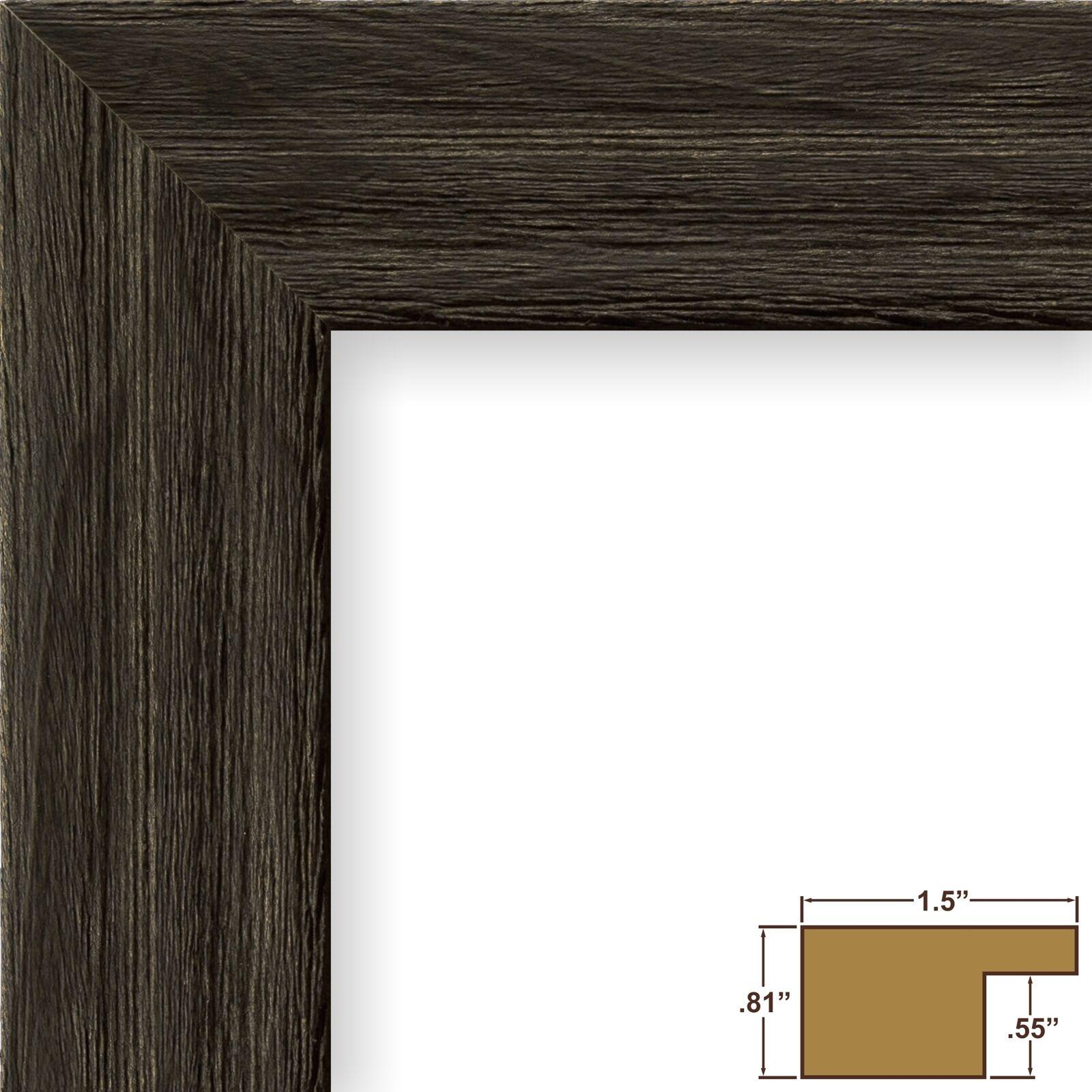 Craig Frames 1.5driftwoodbk 11x17 Picture/poster Frame Wood Grain ...