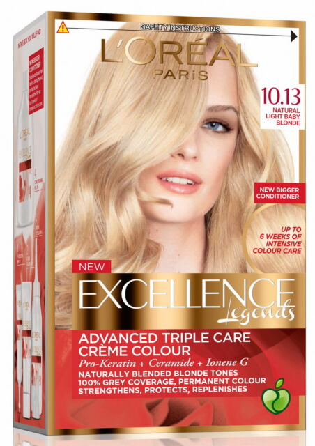 L Oreal Paris Excellence Blonde Legend Hair Colour 10 13
