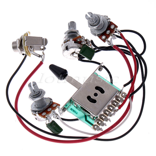 Cool Bulldogsecurity.com Wiring Tiny Guitar Toggle Switch Wiring Square Car Alarm Diagram Remote Start Wiring Youthful Alarm Wiring Fresh3 Humbucker Guitar 5* Pickup Switch Pots Jack Wiring Harness For Fender Strat Guitar ..