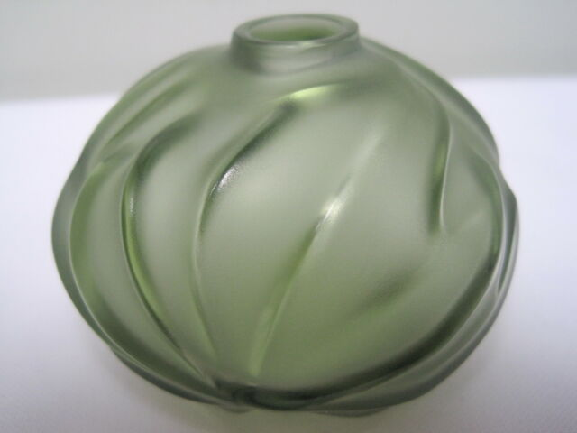 Lalique Crystal Soliflore Royal Palm Antinea Vase France Ebay