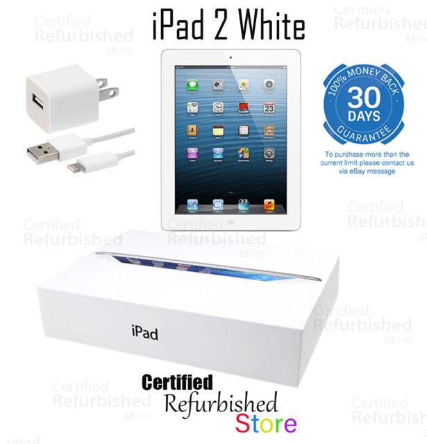 NEW Apple iPad 2 32GB, Wi-Fi, 9.7in - White