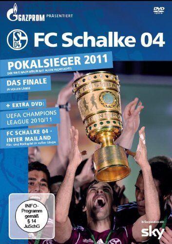 FC Schalke 04 - Pokalsieger 2011 + Champions League vs. Inter Mailand, 2 DVD NEU