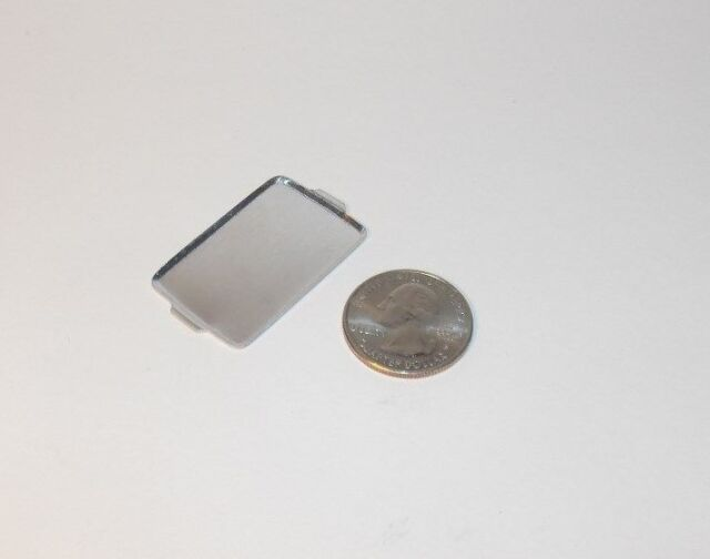 Nice Set of 3 Dollhouse Miniature Metal Cookie Sheets 1:12 Scale #IM65594