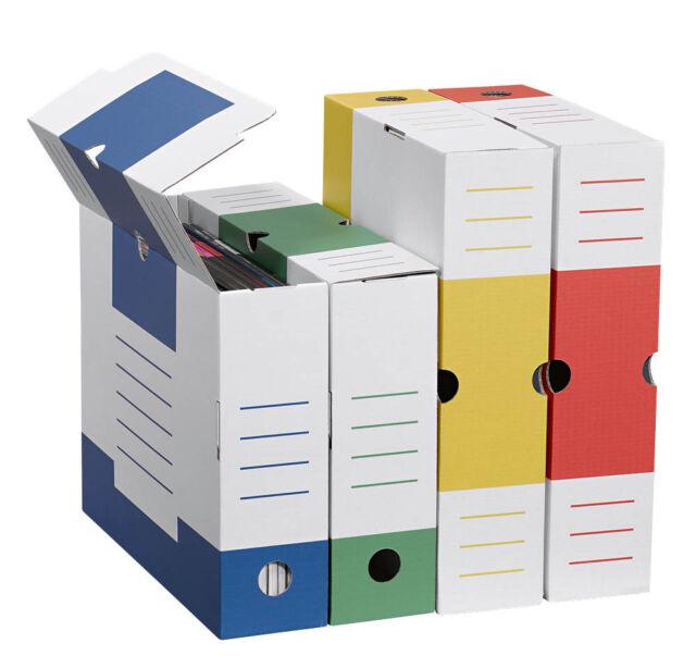 8 Archivboxen