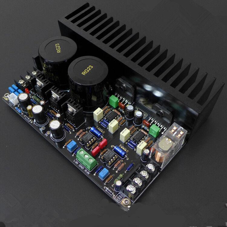 Lm3886 Power Amplifier Board Kit Dc Servo 5534 Independent Op Amp