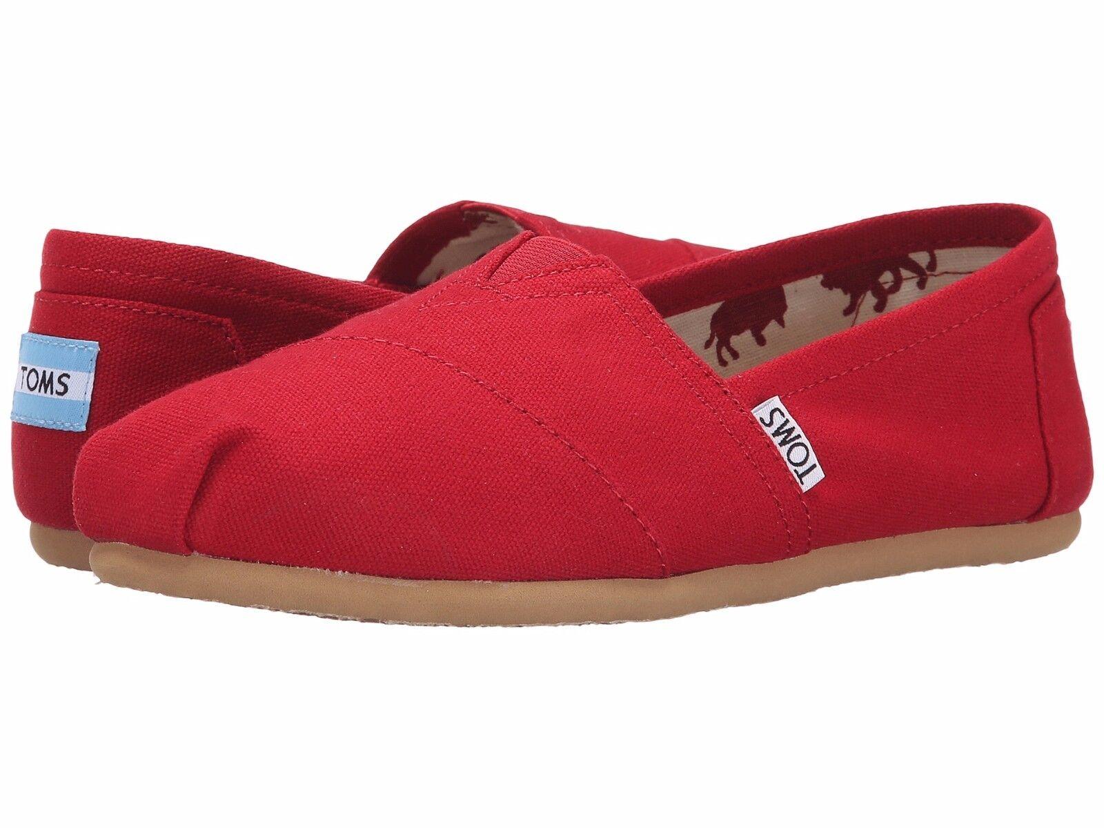 Women Toms Classics Red Canvas Original Classic 001001b07 12  a3779884baa1