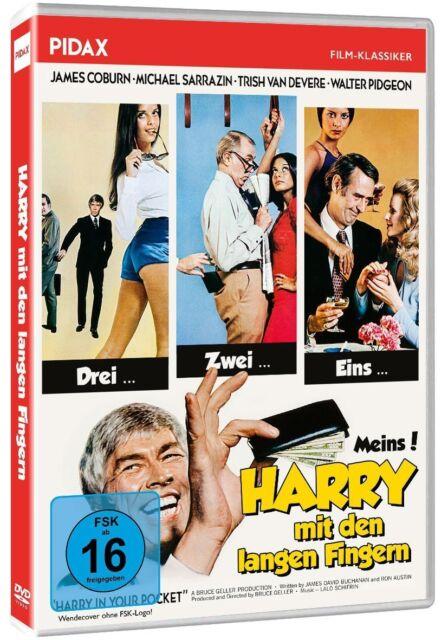 Harry mit den langen Fingern * DVD Gaunerkomödie mit James Coburn Pidax Neu Ovp