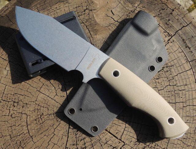 Böker Plus Rold Scout Messer Campknife Outdoormesser D2 Stahl G10 Griff 02BO262