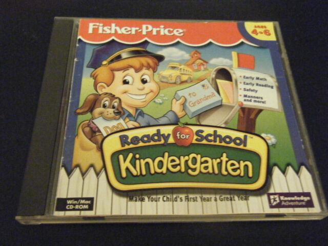 Fisher Price Ready For School Kindergarten Game