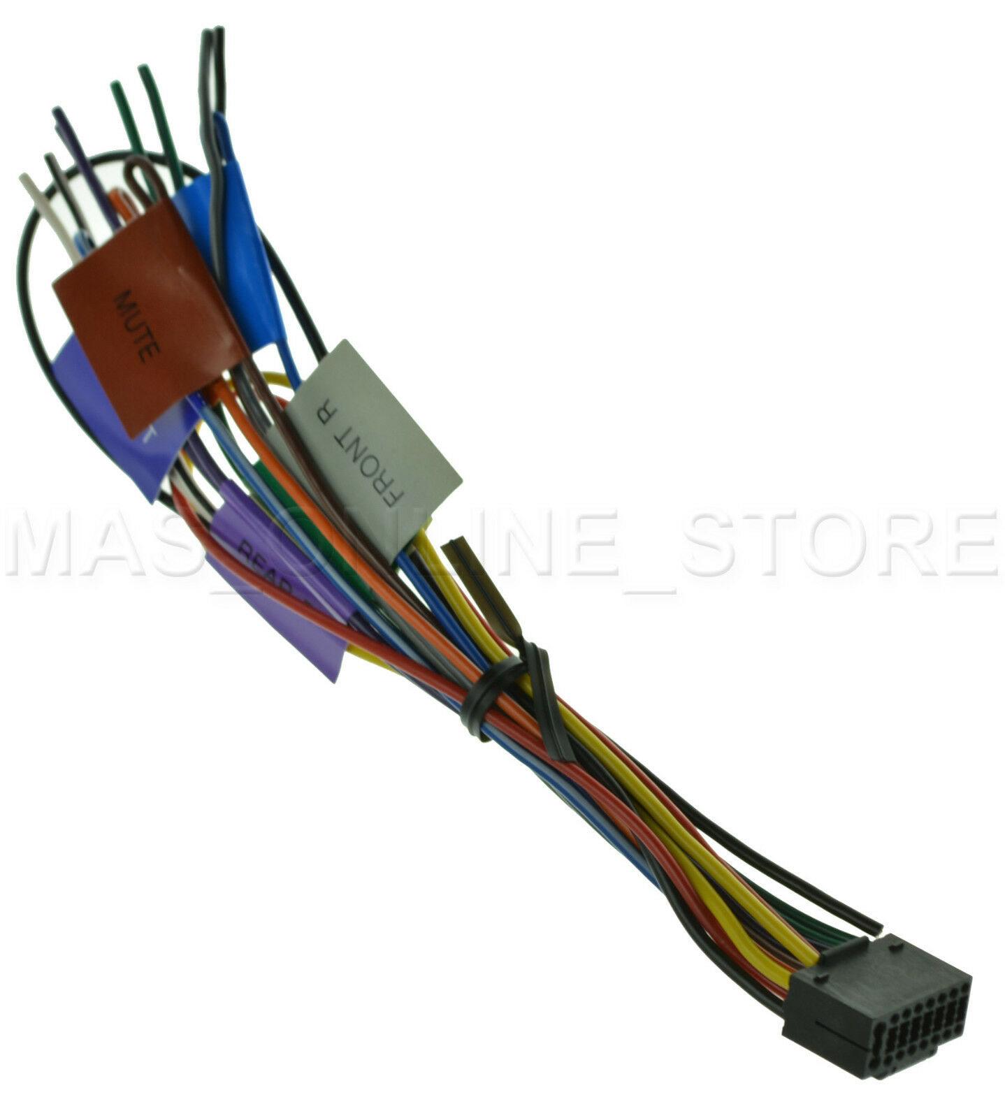 s l1600 kenwood kdc x792 kdcx792 oem genuine wire harness ebay idatalink maestro sw wiring diagram at creativeand.co