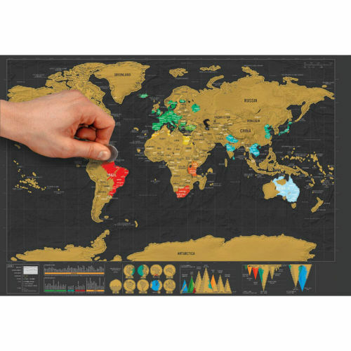 Deluxe travel edition scratch off world map poster personalized resntentobalflowflowcomponenttechnicalissues gumiabroncs Gallery